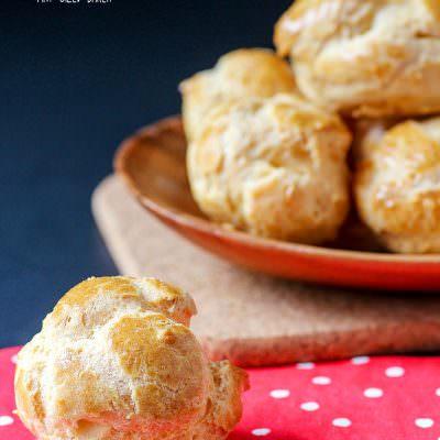 "Pâte à Choux ""Pastry Puffs"""