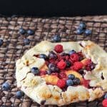 A sweet cousin to raspberries, Wineberries are smaller, sweeter, and the seeds won't get stuck in your teeth. Makes the perfect Wineberry Galette!