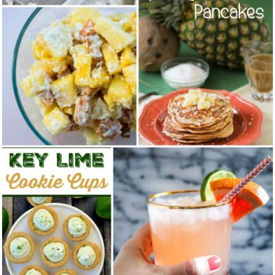 Tropical Treats – food, drinks and crafts