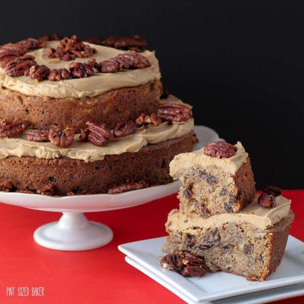 The time is NOW to make this Apple and Caramel Spice Cake. It's a fall recipe you must make!