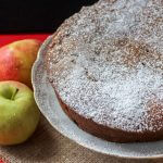 Spiced Applesauce Cake full of sweet raisins, crunchy walnuts, and yummy apple chunks. Serve it warm with a scoop of ice cream.
