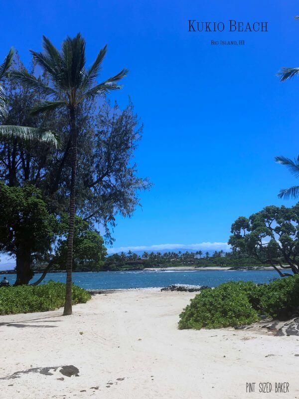 Kukio Beach is a Beautiful Beach with calm waters and fun snorkeling for little ones to enjoy.