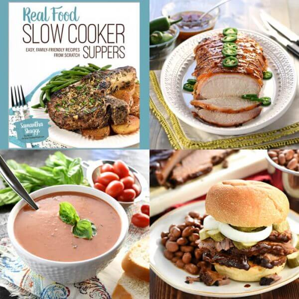 "Get your copy of ""Real Food Slow Cooker Suppers Cookbook"" now!"