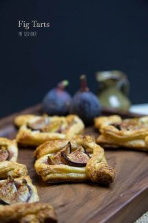 Easy puff pastry Fig Tarts made with just three ingredients and ready to enjoy in under 30 minutes.