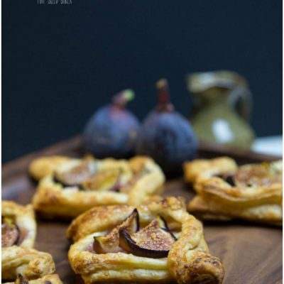 Quick and Easy Fig Tarts