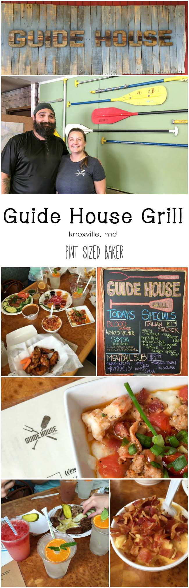 Great BBQ, burgers, mac n' cheese and amzing, hand squeezed lemonade at the Guide House Grill. Great Food - Great People!