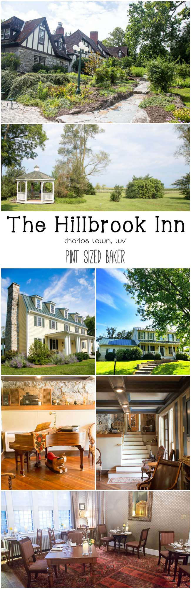 Spend the weekend in the West Virginia panhandle at one of the thee properties at the Hillbrook Inn. It's a sweet destination!