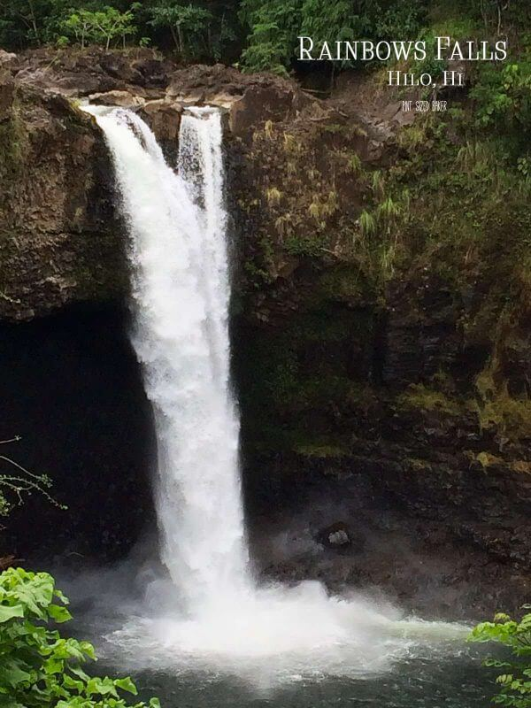 A few shots at Rainbow Falls in Hilo is a picture perfect moment.