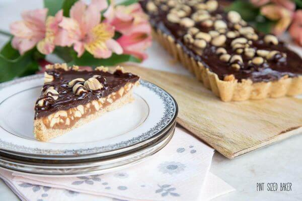 What's not to love about chocolate, caramel and peanuts? I loved this Peanut Caramel Tart so much, I had two slices!