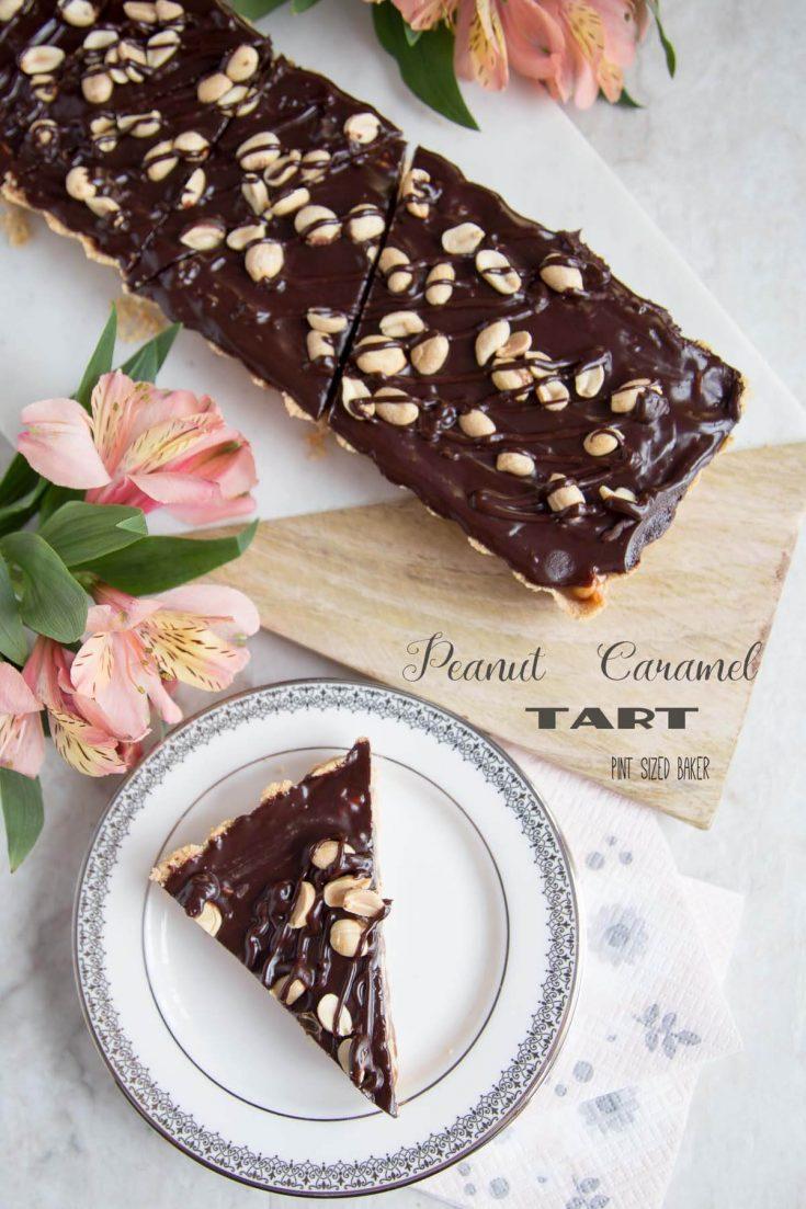 Peanut Caramel Tart