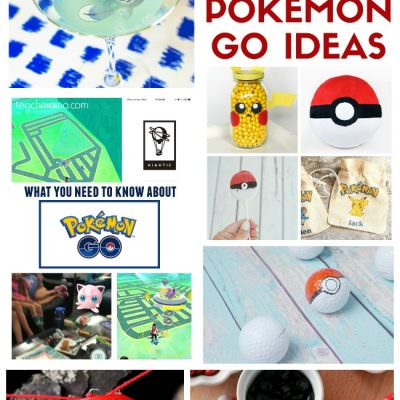 All about Pokemon – Food, Drinks and Crafts