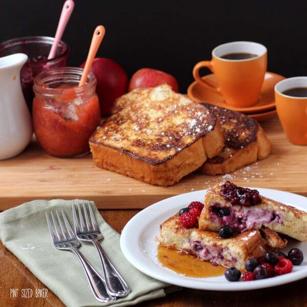 Amazing Stuffed French Toast is perfect for breakfast any day of the week!