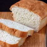 Set aside a day and make some homemade sandwich bread with the kids. This recipe makes two loaves!
