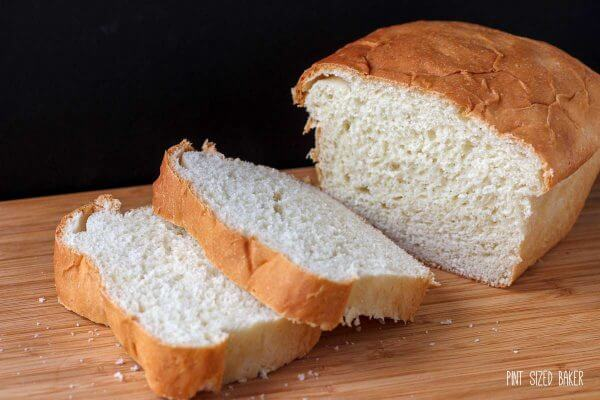 Set aside a few hours during the day and make some homemade white bread with the kids.