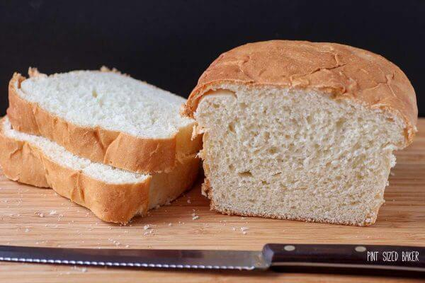 Homemade White Bread is so good!! It's perfect for sandwiches.
