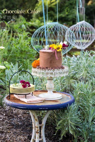 4-layer Chocolate Cake