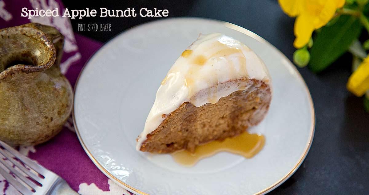 Apple Spice Bundt Cake - Pint Sized Baker