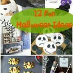 12 Fun Ideas for the family to eat, craft, and decorate! A Halloween Round up for the whole family.