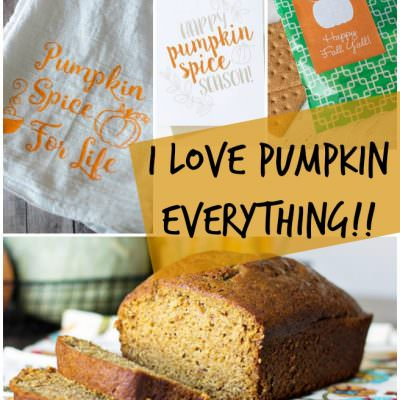 I Love Pumpkin Everything