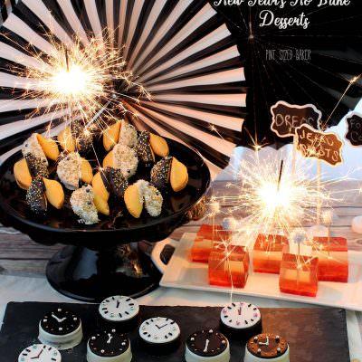 New Years Eve No-Bake Treats