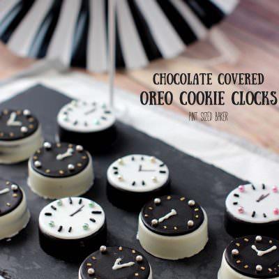 Oreo Cookie Clocks