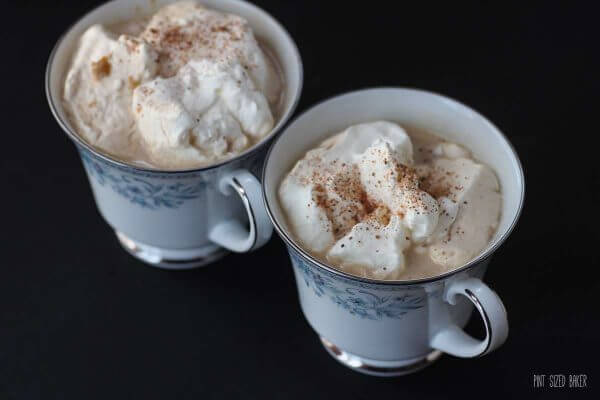 Warm up on a cool night with this pumpkin spice coffee. Simple and delicious.