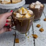 Make a batch of these Salted Caramel Marshmallows and enjoy a mug of Hot Chocolate to warm up!