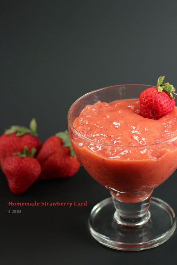 Get a bunch of strawberries and make some homemade strawberry cud. It's sweet and so yummy on cakes and cupcakes.