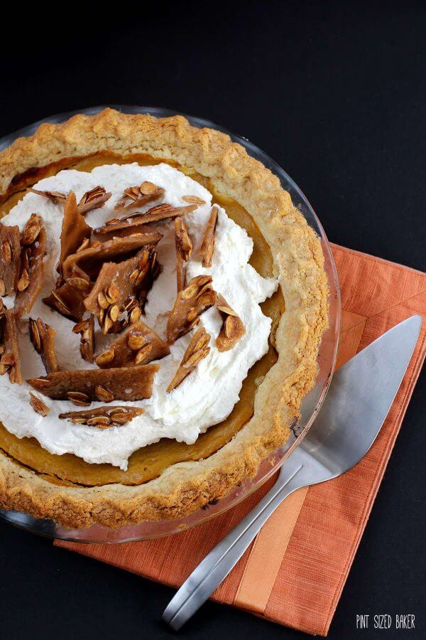 You'll be proud to serve this Thanksgiving Pumpkin Pie to your family.