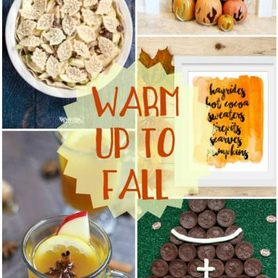 Warm up to Fall