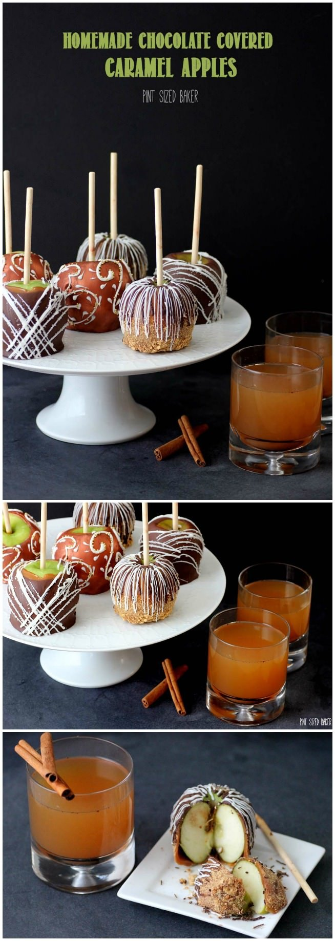 You can't beat Homemade Chocolate Covered Caramel Apples in the fall! All the best tips to make them are in this post!