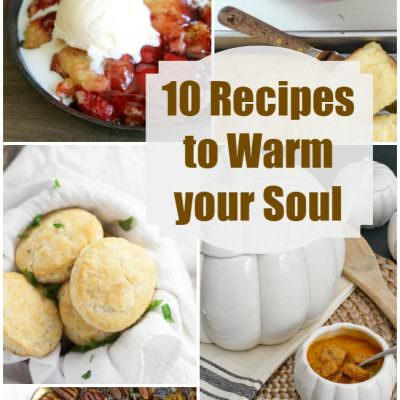 Fall Recipes to Warm Your Soul