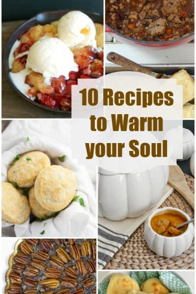 Fall Recipes to Warm Your Soul – Two Cup Tuesday No.199