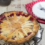 This Cherry Berry Pie is perfect any time of year. Just a few simple ingredients and a fancy crust topping makes this pie extra special.