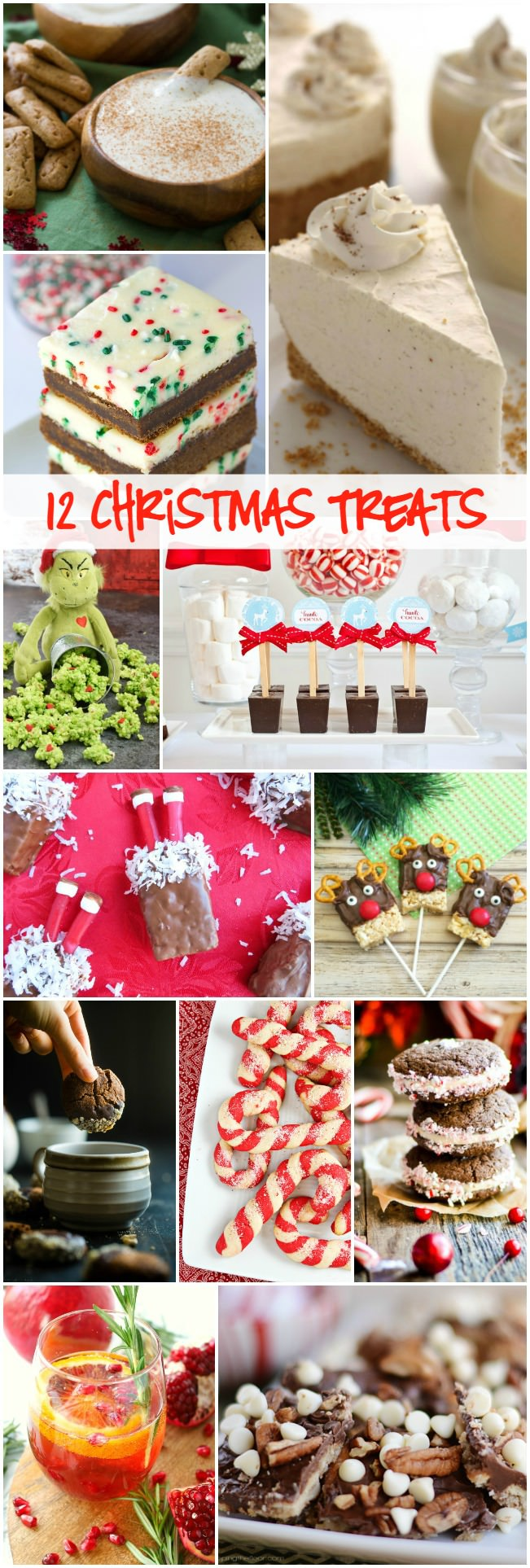 12 Christmas Treats that are perfect for the kids and adults to enjoy!