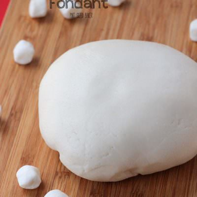 White Chocolate Marshmallow Fondant