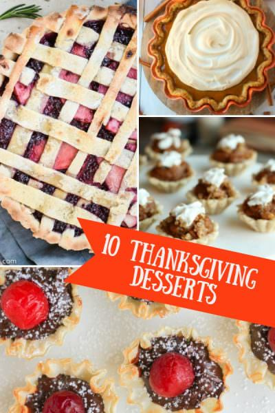 10 Thanksgiving Desserts – Two Cup Tuesday No.201