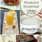 11 Beautiful Weekend Breakfast Ideas for you. Personally, I love breakfast for dinner!