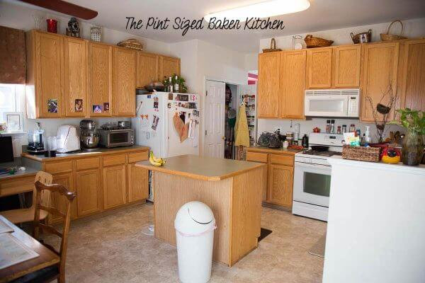 Welcome to the Pint Sized Baker Kitchen. I'm going to renovate my kitchen!