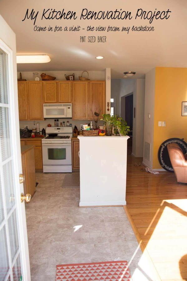 Beginning a Kitchen Renovation Project. Come on in and check out the before images.