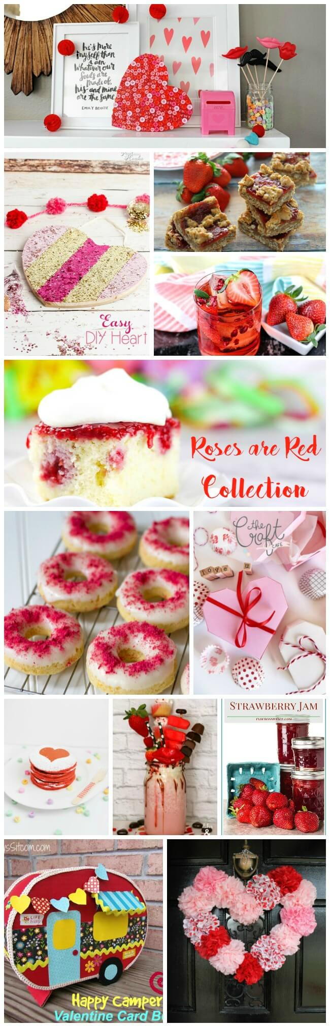 Roses are Red, Violets are blue, I'm Loving all these red themed sweets, how about you? With sweet treats and crafts, all that you need for Valentine's Day is here.