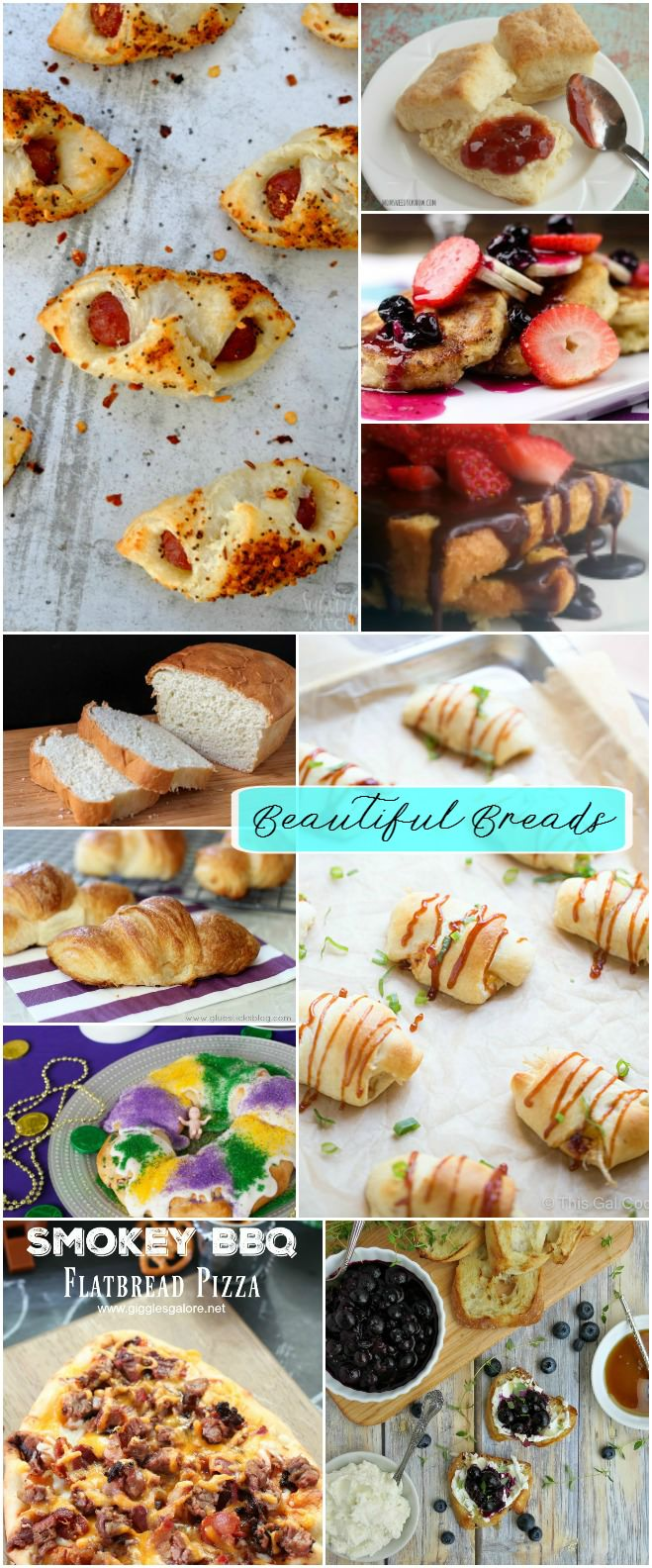 You'll fall in love with carbs again with this Beautiful Bread Recipe Collection! Featuring homemade bread, homemade biscuits, and Pigs in a Blanket! YUM! It's a Carb feast!