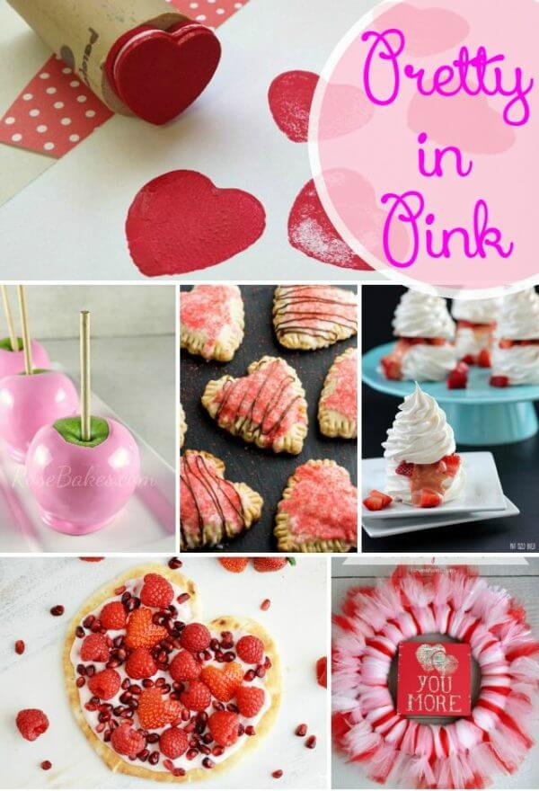 This Pretty in Pink Valentine's Day Collection is just what we need right now! Pretty pink snacks, drinks, and crafts that Cupid would approve of.