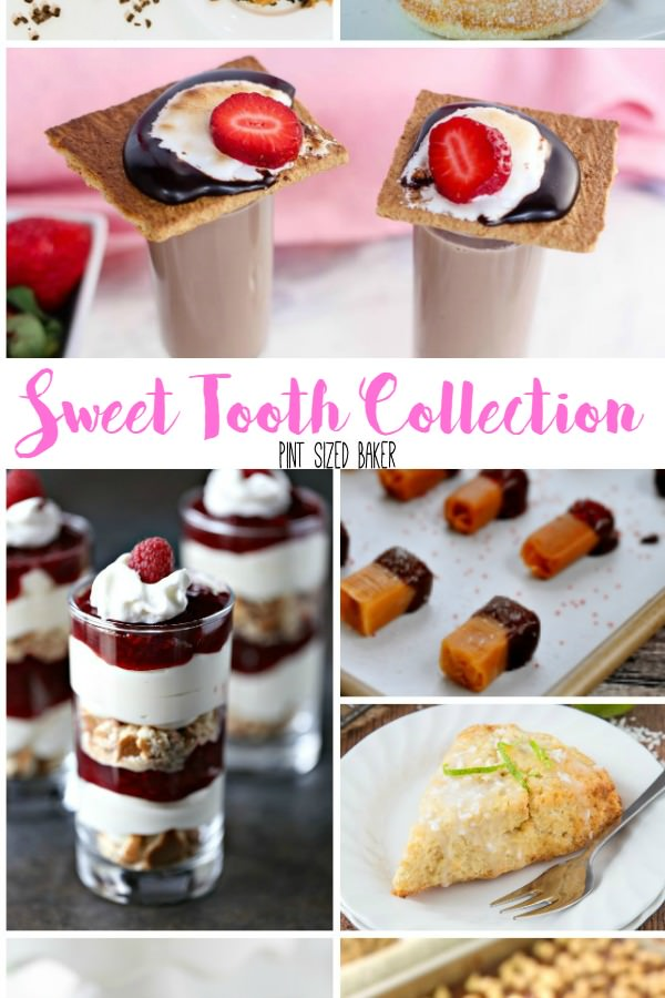 A great collection for your Sweet Tooth! 10 treats for breakfast, snack time, and dessert!
