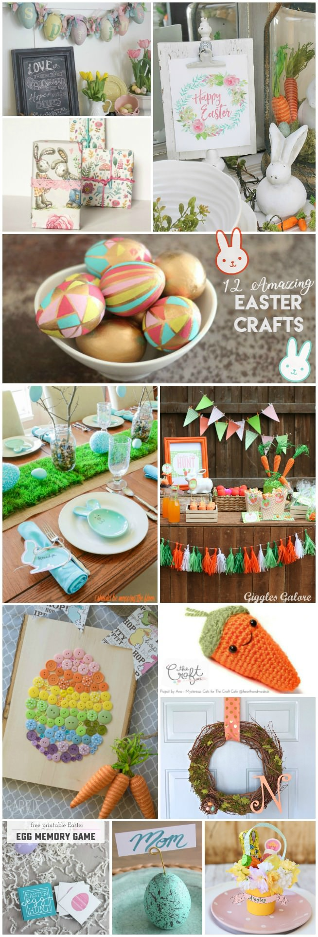 12 amazing Easter crafts for you and your family to make this Spring!