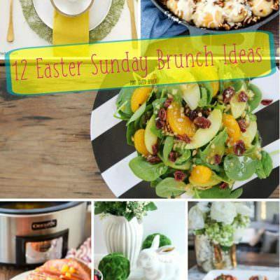 12 Easter Sunday Brunch Ideas