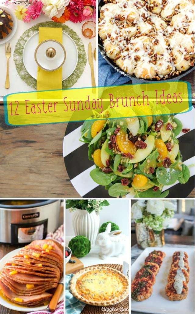 12 Easter Sunday Brunch Ideas