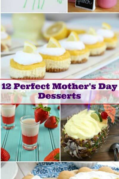 12 Perfect Mother's Day Desserts