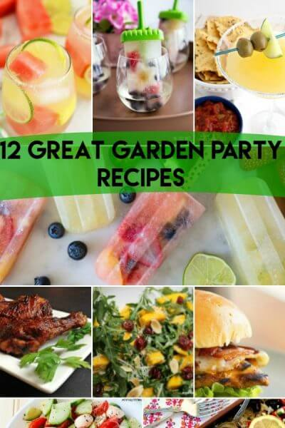 Great Garden Party Recipes