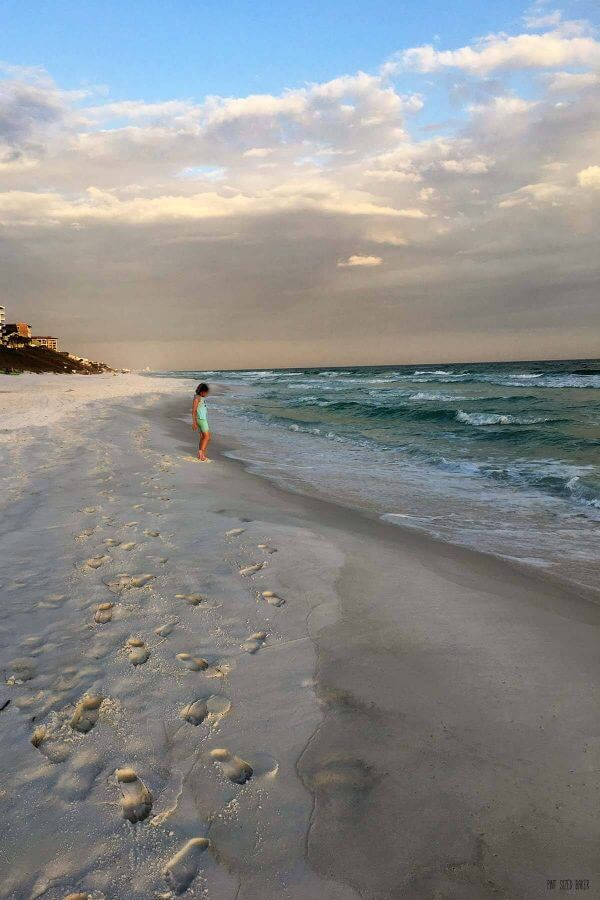 The beaches in Santa Rosa, Florida are beautiful. Soft, sandy beaches with emerald water and lots of wildlife to explore.